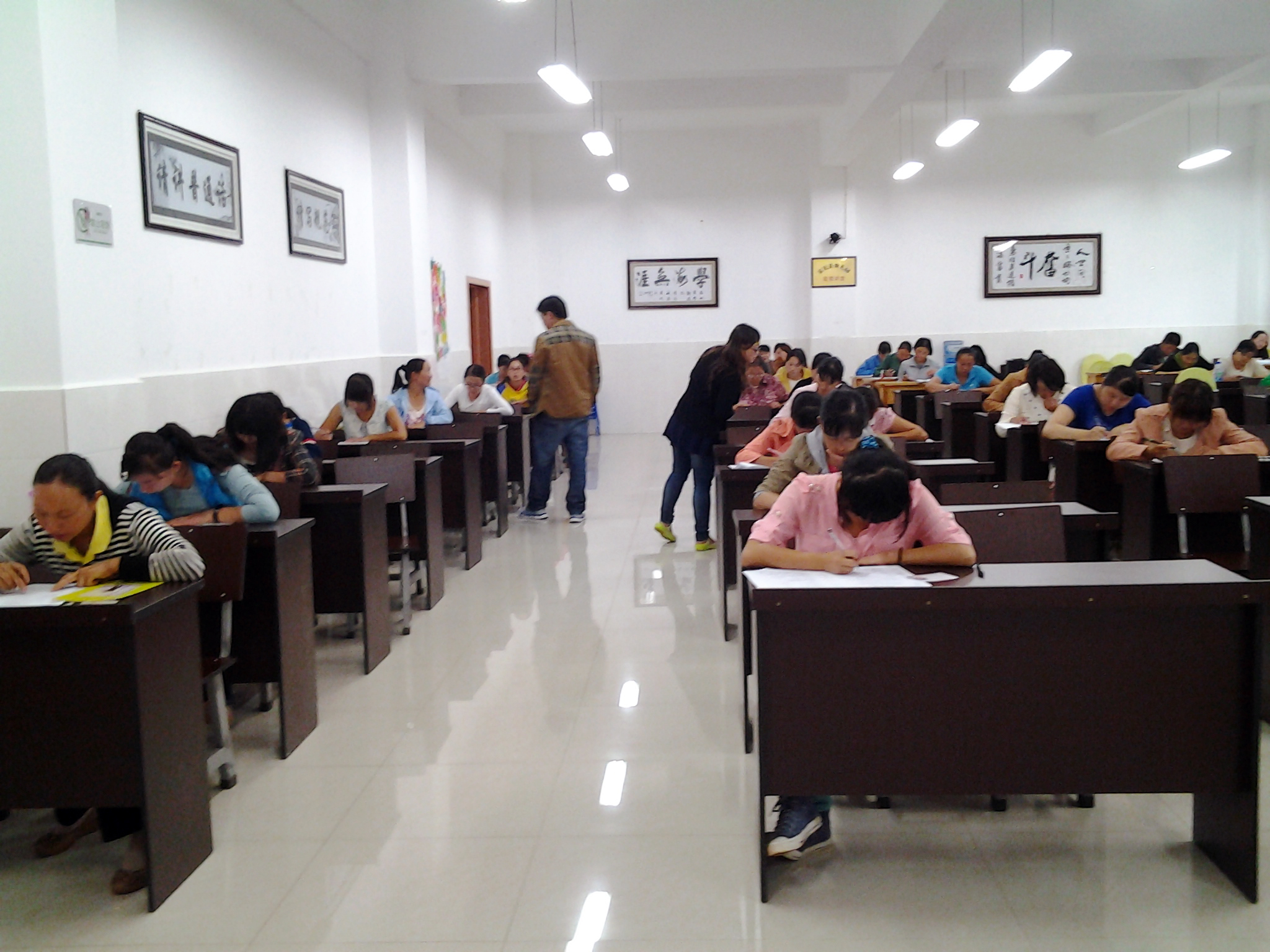 2013年7月富民县保育员培训班